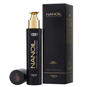 Nanoil - Najlepszy lejek do włosów